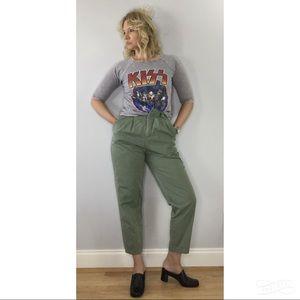 Vintage Eddie Bauer slouchy high waist baggy pants